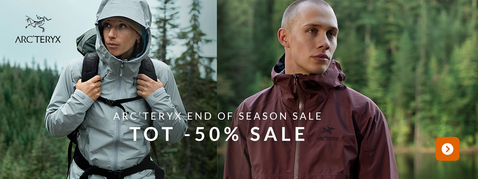 Arc'teryx End of Season Sale