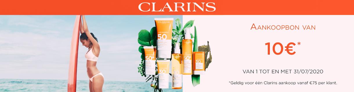 Clarins-10€-korting