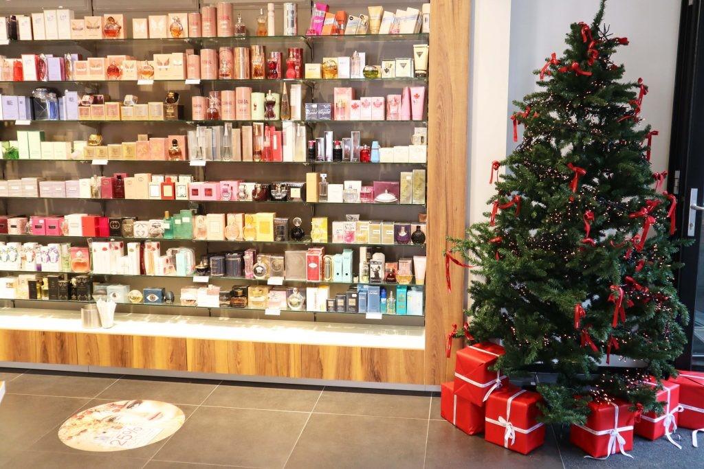 Panningen kerstboom