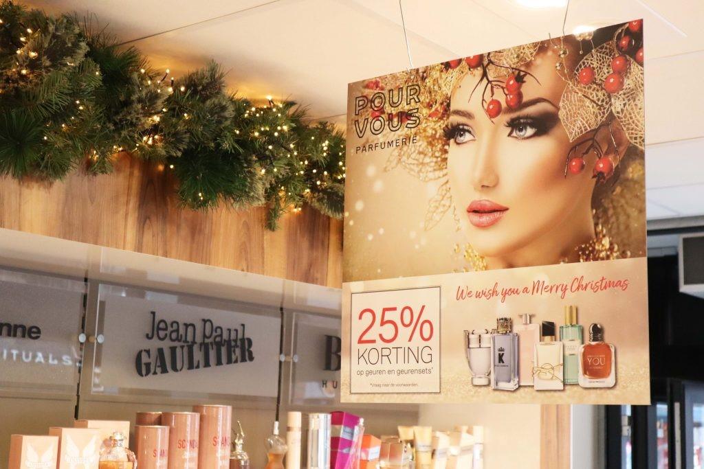 Pour Vous geuren promotie kerst